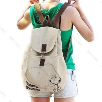 Korean Fashion Student #G Lady Girl Cute Canvas backpack handbag shoulder bag