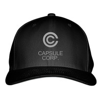 Capsule Corp Dragon Ball Embroidered Baseball Cap