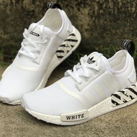 Adidas NMD 9388-5a white horse sport shoes
