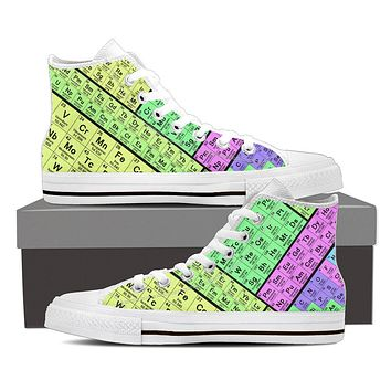 Periodic Table Shoes-Clearance