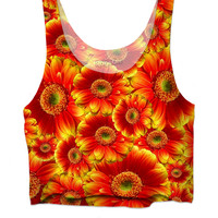 FOREVER FLOWERS Sun Edition Crop top
