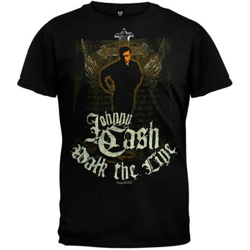Johnny Cash - Walk The Line R.I.P. T-Shirt