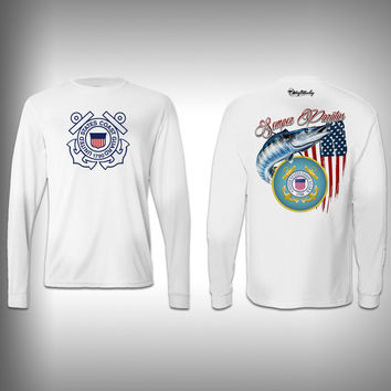 Armed Forces Coast Guard - Performance Shirt - Fishing Shirt