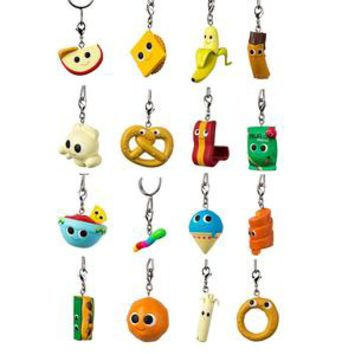 Yummy World Snack Attack Blind Bag Keychains