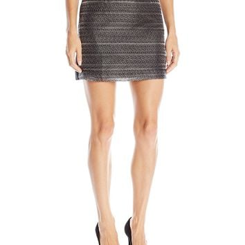 A|X Armani Exchange Women's Textured Skirt