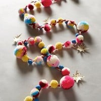 Wishing Star Garland by Anthropologie Red One