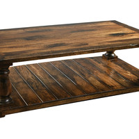 Coffee Table, Pecan, Cocktail Table