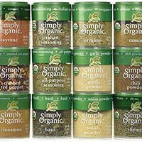 Simply Organic Starter Spice Gift Set