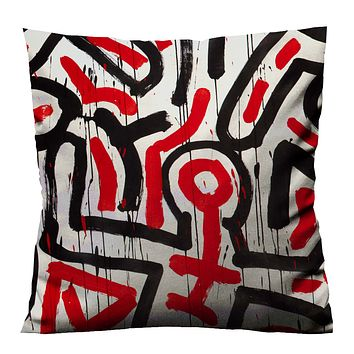 KEITH HARING BODY 1 Cushion Case Cover