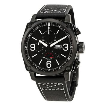 Oris Aviation BC4 Chornograph Mens Watch 674-7633-4794LS