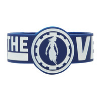 Pierce The Veil Girl Logo Die-Cut Rubber Bracelet