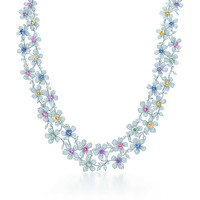 Tiffany & Co. - Sapphire Wildflower Necklace