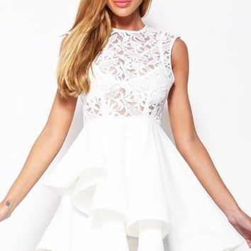 Anastasia Lace Fit and Flare Dress - LAST FEW FINAL SALE!