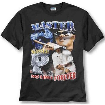 ku-you MASTER P NO LIMIT FOREVER INSPIRED TEE RAPPER RNB RAP T SHIRT