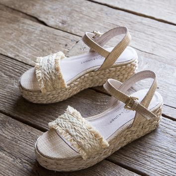 Ziba Straw Braided Sandal, Natural | Chinese Laundry