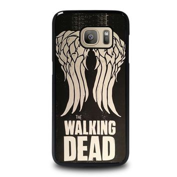 walking dead daryl dixon wings samsung galaxy s7 case cover  number 1