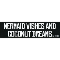 RIP CURL Mermaid Wishes Sticker | Stickers