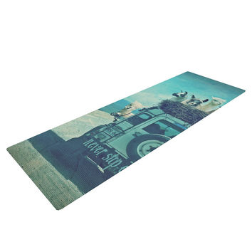 "Monika Strigel ""Never Stop Exploring III"" Yoga Mat"
