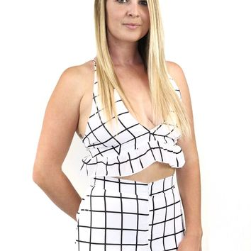 Shake It Off Triangle Top and Shorts Set