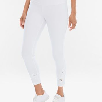 Chico's Embroidered Crop Leggings