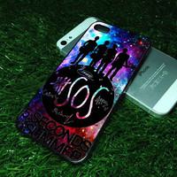 SOS 5 Second of Summerr customized for iphone 4/4s/5/5s/5s, samsung galaxy s3/s4/s5 and ipod 4/5 case
