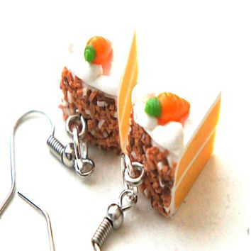Carrot Cake Dangle Earrings