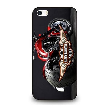 MOTORCYCLE HARLEY DAVIDSON iPhone SE Case Cover