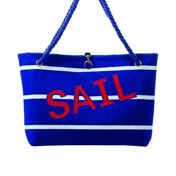 Toss Nautical Necessities Boat Bag- Sail