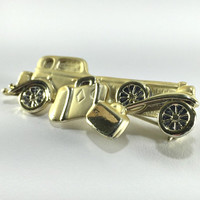 Roadster Car Pin, Lapel Tie Coat Hat Pin, Automotive Brooch, Art Deco Period, 30s Throwback, Car Fanatic, Collector Pin, Accessory for Men