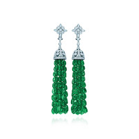Tiffany & Co. - Tsavorite Tassel Earrings
