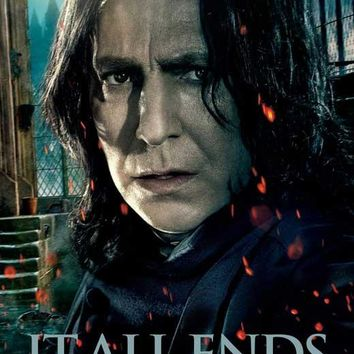 Harry Potter and the Deathly Hallows: Part II (UK) 27x40 Movie Poster (2011)