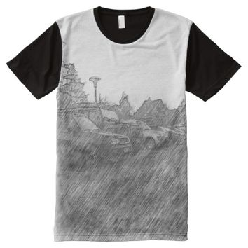 car parking All-Over-Print T-Shirt