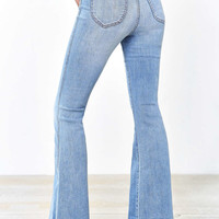 BDG Morrison High-Rise Flare Jean - Light Blue - Urban Outfitters