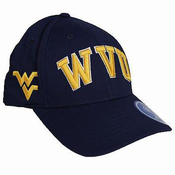 Licensed West Virginia Mountaineers NCAA Adjustable Fresh Hat Classic Cap KO_19_1