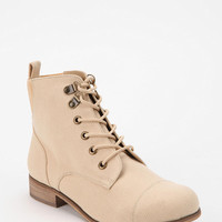BDG Canvas Lace-Up Boot