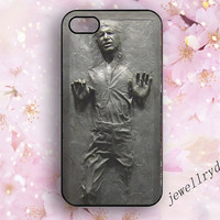 Star Wars Han Solo in carbonite iphone 4/4s case,iphone 5/5s case,Shiny Silver Finish samsung galaxy s4 s5 case,star wars iphone 5c case