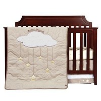 Sweet Dreams 3 Piece Crib Bedding Set