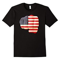 USA Flag Fist Shirt - American Stars and Stripes on a Fist