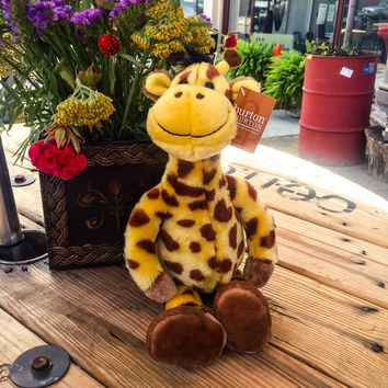 "16"" Plush Gerri Giraffe Stuffed Toy Animal"