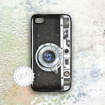 Old School Camera iPhone 4 4S hard case - Vintage iPhone4 cover
