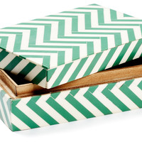 One Kings Lane - HGTV: The Little Things - Chevron Wood Box