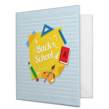 School 3 Ring Binder