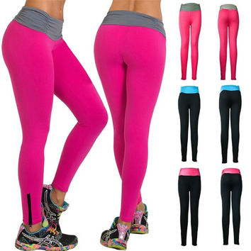 Women Soft Comfy Cotton Spandex Yoga Sweat Lounge Gym Sports Athletic Pants_RP = 1932319620