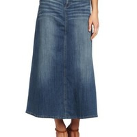 KUT from the Kloth Women`s Long Denim Skirt $74.00