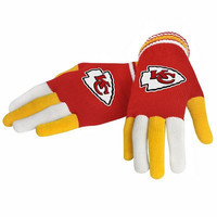Official NFL Kansas City Chiefs Gloves Choose Style