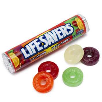 Life Savers Hard Candy Rolls - 5 Flavors: 20-Piece Pack
