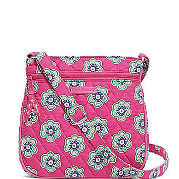 Vera Bradley Petite Double Zip Hipster Cross-Body Bag