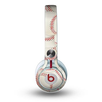 The Baseball Overlay Skin for the Beats by Dre Mixr Headphones