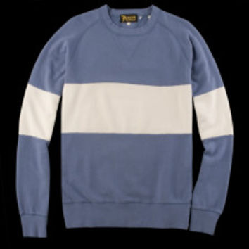 UNIONMADE - Levi's Vintage Clothing - 1950s Crew Sweatshirt in Heritage Colorblock