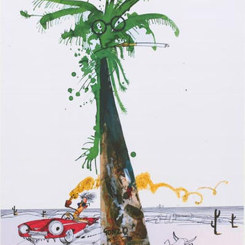 Ralph Steadman Hunter S Thompson Gonzo Poster 24x36